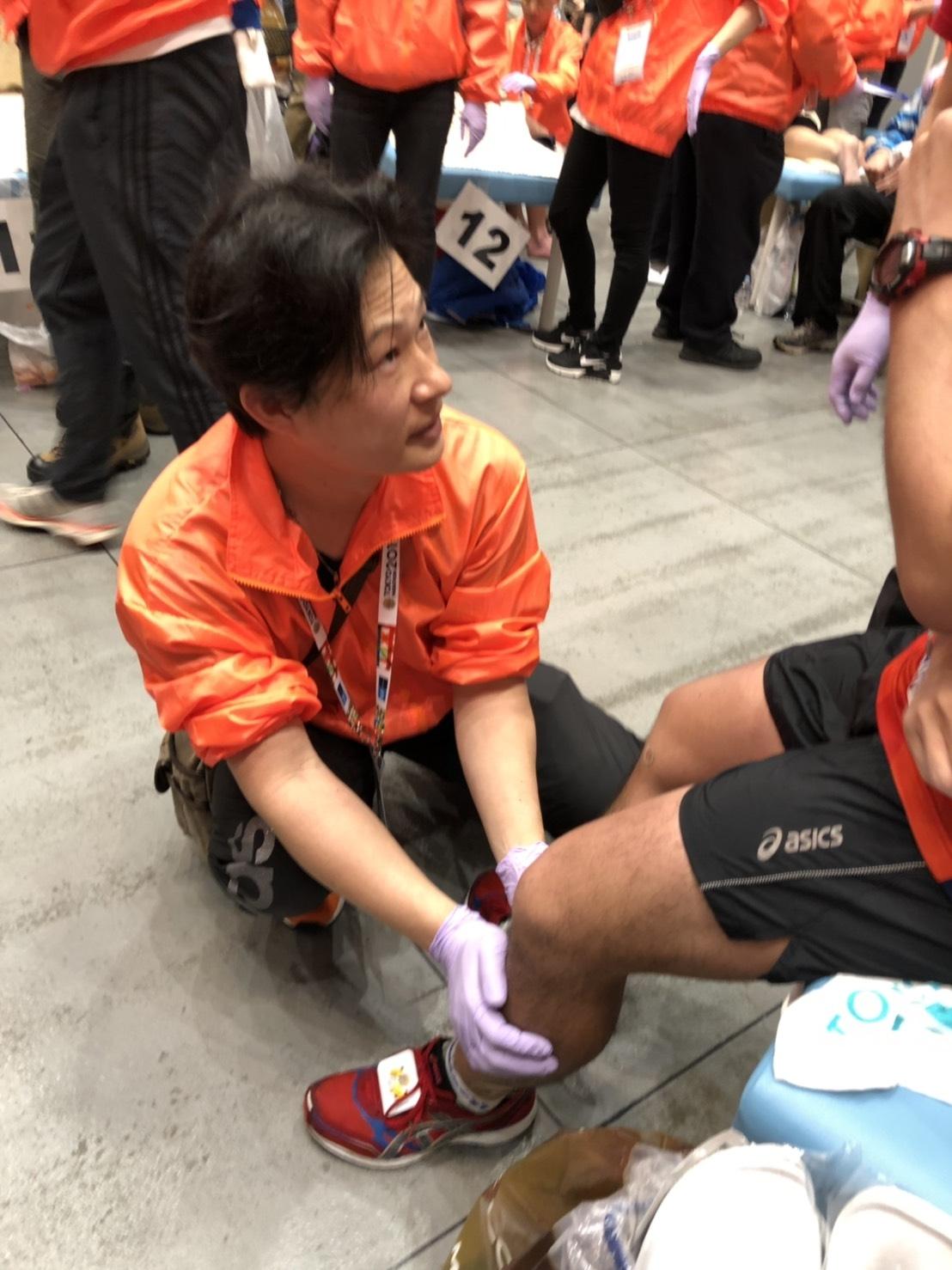東京マラソン、東京国際フォーラム、ランナーケア、救護、低体温症、疲労骨折、温活、