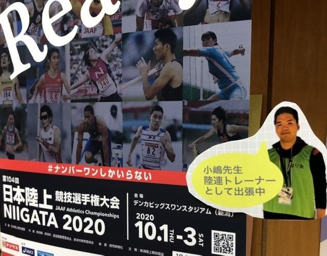 日本陸上競技連盟、小嶋樹先生、JAAF、日本選手権