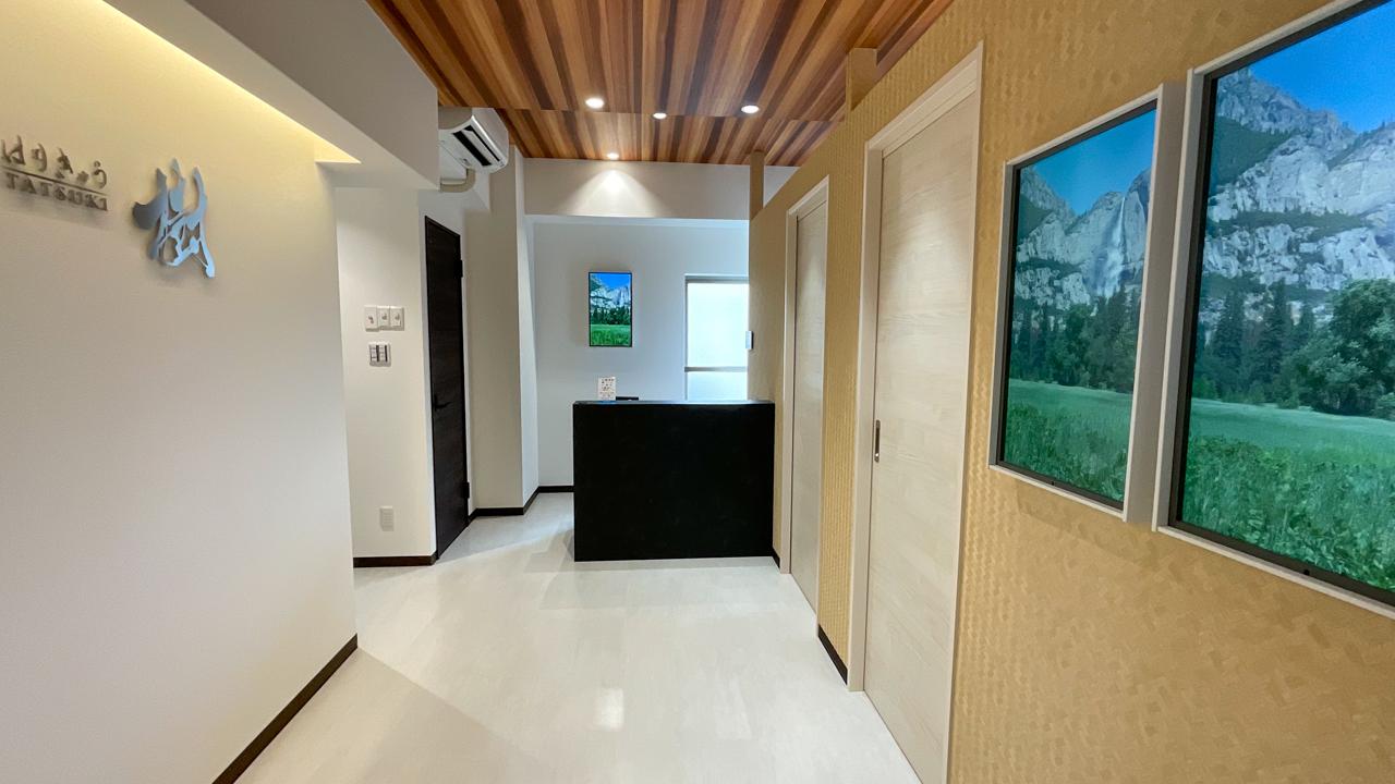 小嶋樹、樹はりきゅう院、清潔、安全、安心、スタイリッシュ、サロン空間